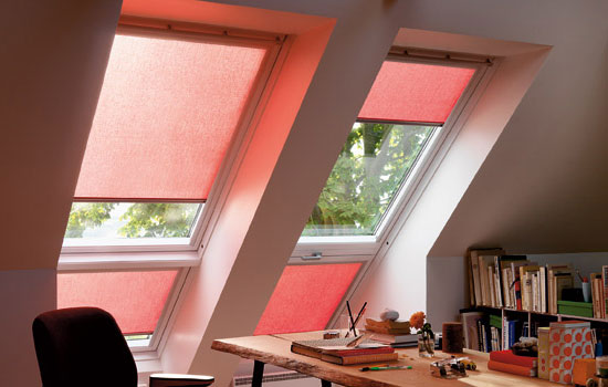 Skylight blinds st albans watford velux window blinds for Velux window shades