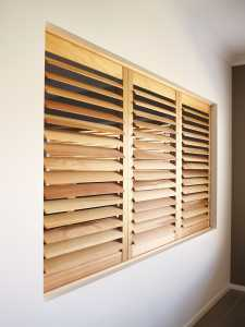 solid panel wooden shutters