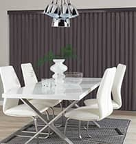 Dark Taupe Allusion Blinds