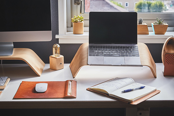 Mulitpurpose home office setup